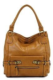 Scarleton Shoulder Bag H114825 - Camel