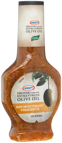 Kraft Good Seasons Salad Dressing, Sun-Dried Tomato Vinaigrette, 14-Ounce Bottles (Pack of 6)