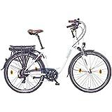 NCM MUNICH 2015 28 Zoll (700C) Elektrofahrrad Damen Pedelec E-Bike ALU 36V 250W Lithium-Ionen-NCM Akku mit 13Ah SAMSUNG Zellen