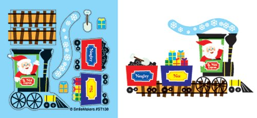 Make Your Own Santa Train 75-pak