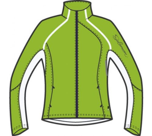 Salomon Women's XT Softshell Jacket (X-Small, Folio/White) (Womens Cycling Salomon compare prices)