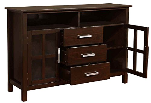 Simpli Home Kitchener Tall TV Stand, 53