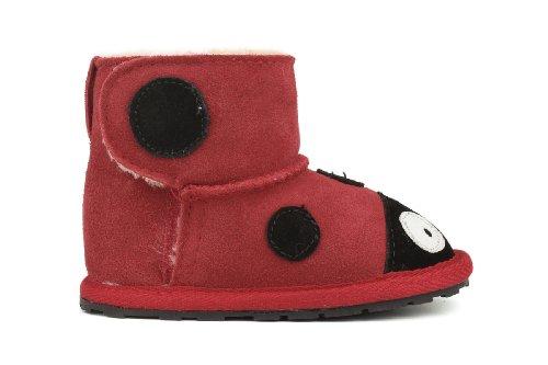 Emu Australia Lady Bird Walker Boot (Infant/Toddler),Red/Rouge,18-24 Months M Us Toddler front-416234