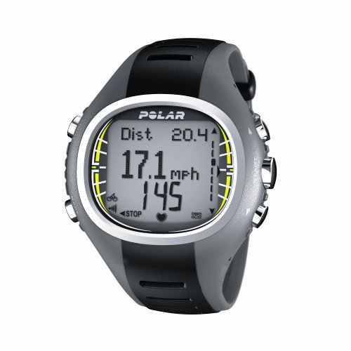 Polar CS300 Heart Rate Monitor - Grey/Black