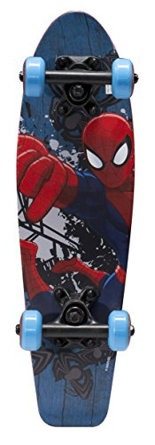 Best Deals! Ultimate Spiderman Kids 21 Complete Skateboard (Flying Spider)