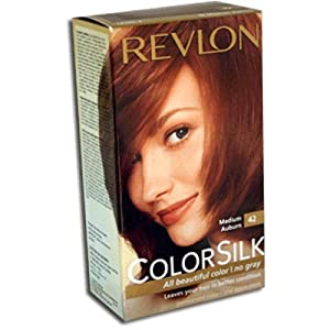 revlon colorsilk haircolor 42 medium auburn 4r