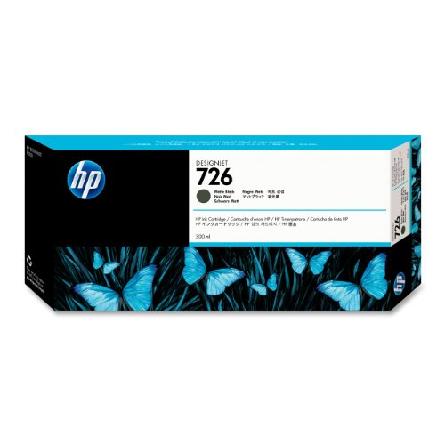 HP - 726 - CARTOUCHE D'ENCRE D'ORIGINE NOIR MAT