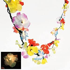 Click to buy Flower Lei Garland Light String Party Light Set from Amazon!