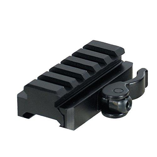 UTG RSQD605 5-MNT-Adaptateur pour support de fixation - 15 mm-Hauteur de la selle QuickDetach Serrure pour Weaver/Picatinny