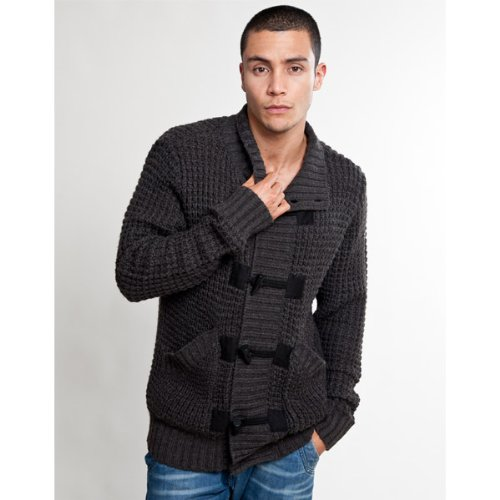 Crafted Lipton Cardigan - Brown - Mens