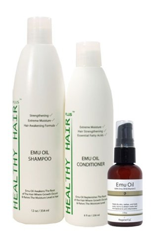 Healthy Hair Plus - Emu Oil Hair Kit