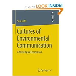 Cultures of Environmental Communication – new book is available!