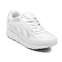 Asian Shoes Boys HILLSTONE White School Range 9 UK/Indian