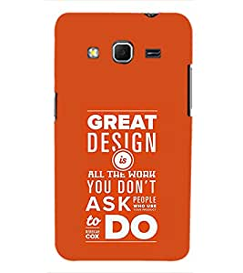 TOUCHNER (TN) Great Design Back Case Cover for Samsung Galaxy Core Prime G360
