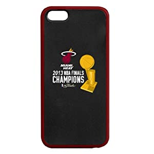 Miami Heat 2013 NBA Champions iPhone 5 Fusion Hardshell Case with TPU Gel Bumper -... by Tribeca