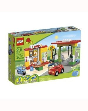41xkHrliOIL Cheap Buy  LEGO DUPLO 6171 My First Gas Station