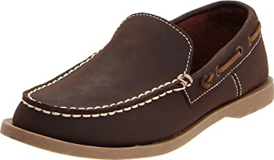 Kenneth Cole Reaction See Saw Loafer (Little Kid/Big Kid),Dark Brown,13 M US Little Kid