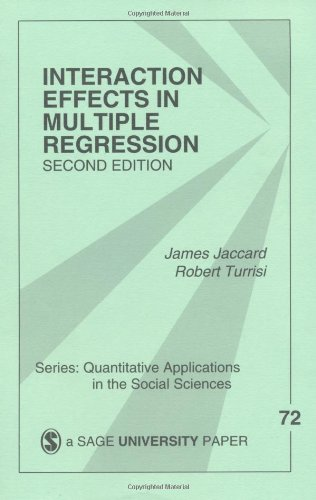 Interaction Effects in Multiple Regression (Quantitative...
