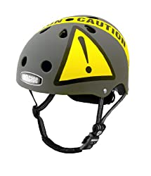 Nutcase Urban Caution Matte Bike Helmet from Nutcase