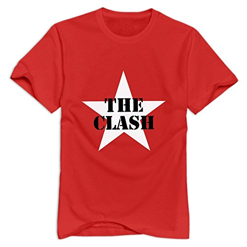 red-enlove-the-clash-roundneck-t-shirt-for-boyfriends-size-m