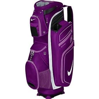 2013 Nike M9 Cart Trolley Golf Bag Bright Grape/Violet