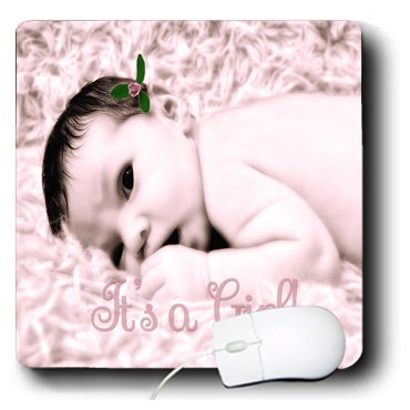 Baby Girl Photo Birth Announcements front-590684
