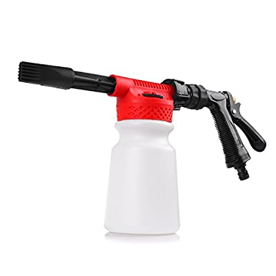 NetBoat Car Wash Foam Gun Sprayer, Snow Foam Lance, Car Cleaning Foam Gun 900ml