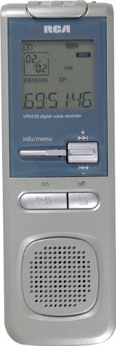 RCA VR5330R 2GB USB Digital Voice Recorder