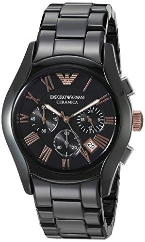 Emporio Armani Analog Black Dial Men's Watch – AR1410