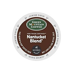 Green Mountain Coffee Nantucket Blend, Medium Roast, K-Cup Portion Pack for Keurig Brewers 80-count