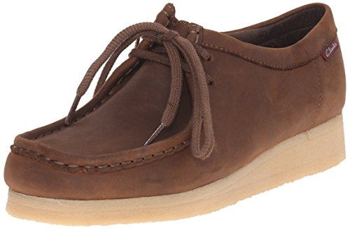 Clarks Women's Padmora Oxford, Brown Smooth, 8 M US