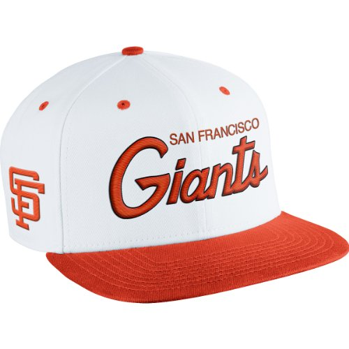 NIKE Men's San Francisco Giants MLB Coop SSC Throwback Adjustable Cap at Amazon.com