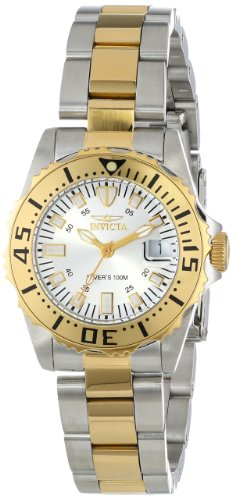 Invicta 14371 30mm Gold Steel Bracelet & Case flame fusion Women's Watch