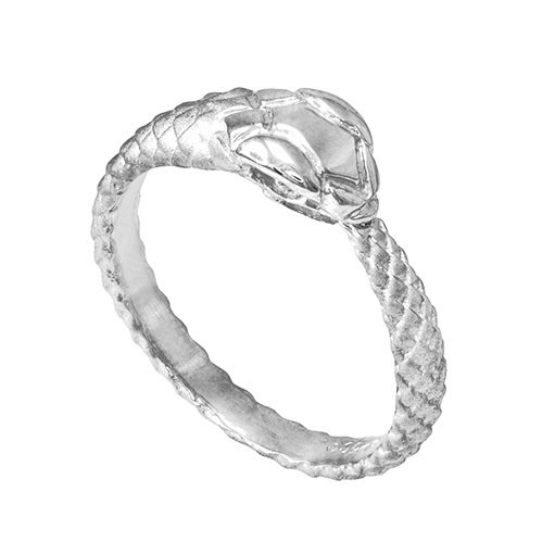 925 Sterling Silver Ouroboros Snake Ring (Size 8) (Snake Tail Ring compare prices)