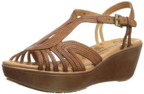 BareTraps Women's Derica Wedge Sandal,Auburn,9 M US at Amazon.com
