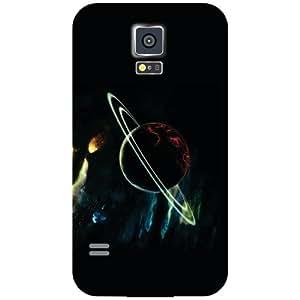 Samsung Galaxy S5 Back Cover - Satellites Designer Cases