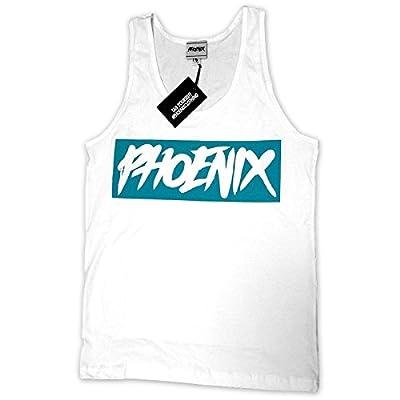 Phoenix Clothing - Phoenix Icon Tank Top white-mint