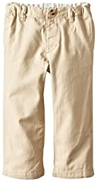 The Children\'s Place Baby Boys\' Chino Pant, Flax, 3T