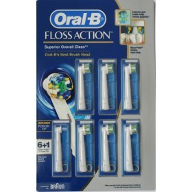 Oral B Triumph Floss Action