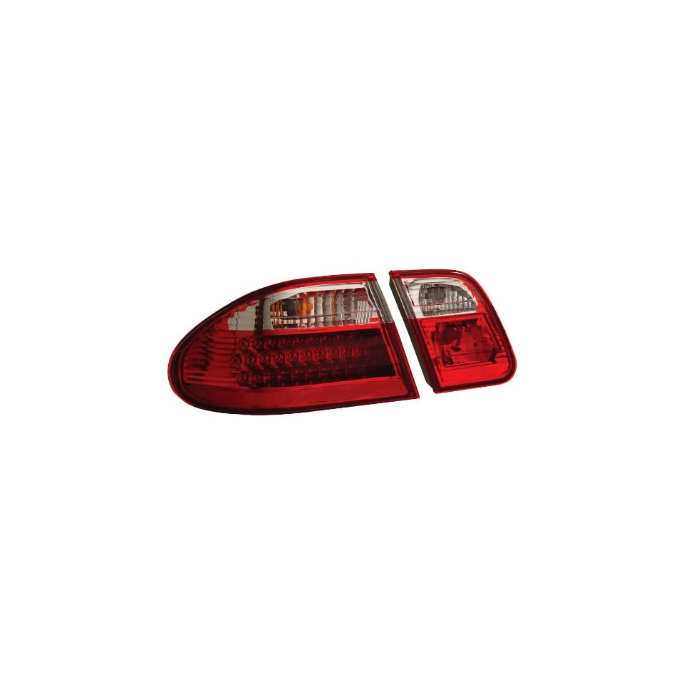 Anzo USA 321114 Mercedes Benz Red/Clear G2 LED Tail Light Assembly   (Sold in Pairs)