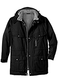Boulder Creek Men's Big & Tall Hooded…