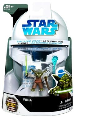 41xkj9yjjHL Reviews Star Wars The Clone Wars Yoda Action Figure