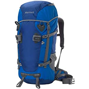 Marmot Centaur 38 Backpack - 2320-2500cu in Surf/Blue Ocean, L