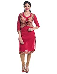 Cynthia's Fashion Women's Cotton Straight Salwar Suit - CFK259