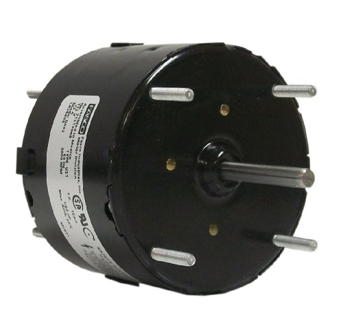 Fasco D402 3.3-Inch General Purpose Motor, 1/60 Hp, 115 Volts, 3000 Rpm, 1 Speed, .75 Amps, Totally Enclosed, Cwse Rotation, Sleeve Bearing