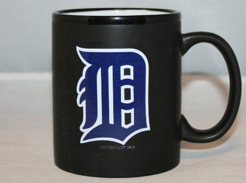Detroit Tigers Mlb Black 2-Tone Logo 11 Oz. Mug