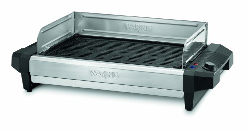 Waring Pro CIG100 Professional 1800-Watt Cast-Iron Grill (Indoor Grill Searing compare prices)