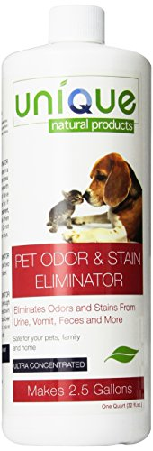 Unique Natural Products Pet Odor and Stain Eliminator, 32-Ounce