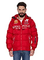 Geographical Norway Abrigo Corto Avalanche Men 1 (Ex Alabama Mat) (Rojo)