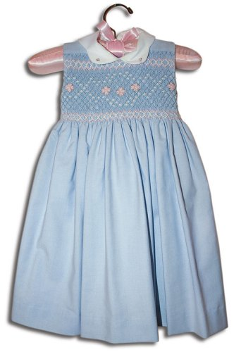 Angelika Hand smocked girl oxford blue sleeveless party dress - Size 4 - Buy Angelika Hand smocked girl oxford blue sleeveless party dress - Size 4 - Purchase Angelika Hand smocked girl oxford blue sleeveless party dress - Size 4 (Farfallina For Kids, Farfallina For Kids Dresses, Farfallina For Kids Girls Dresses, Apparel, Departments, Kids & Baby, Girls, Dresses, Girls Dresses, Baby Doll & Sundresses)